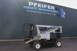 articulated boom lift wheeled Niftylift HR12NDE Bi-Energy, 12.2m Working Height, 6.10m Rea 2014