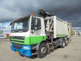 garbage truck DAF FA N CF75-250 6X2 2010