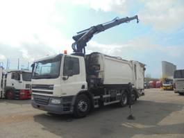 garbage truck DAF CF 75 6X2 2011