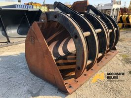 front loader bucket attachment Overige Bucket with top clamp CAT 966 2000