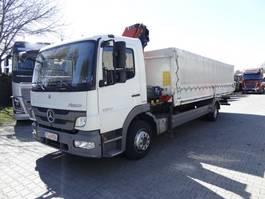 crane truck Mercedes-Benz Atego 1222 HMF 910 2013