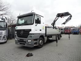 crane truck Mercedes-Benz Actros 2536 6X2 mit HIAB 288 Montagekran 2005