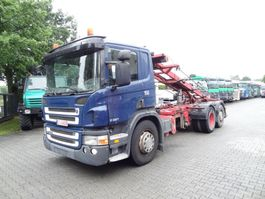 container truck Scania P310 6X2*4 SEILABROLLER 2008