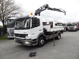 crane truck Mercedes-Benz Atego 1218 mit HMF 10 T/M Kran 2010