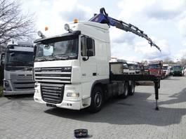 crane truck DAF XF 105 6X2 mit PM48026+ JIB+ WINDE 2008