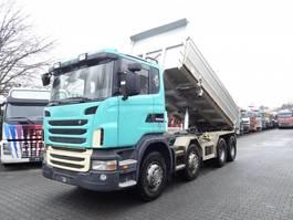 tipper truck > 7.5 t Scania G 440 8X4 2010