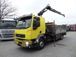 crane truck Volvo FE 280 mit HIAB 099 2007