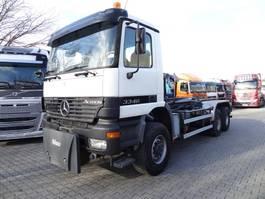 container truck Mercedes-Benz Actros 3340 6X6 2002