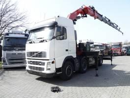 heavy duty tractorhead Volvo FH13 480 8X4 KRAN FASSI 60 T/M 2007