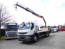 crane truck Renault Premium 410 410DXI 6X4 mit FASSI 170A.23 2009