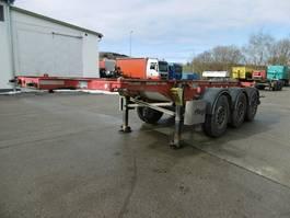 swap body trailer semi trailer Fliegl 3 Achs Container Chassis 20Fuss Alufelgen 2015