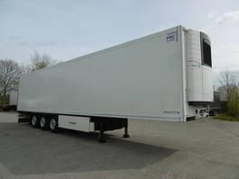 refrigerated semi trailer Krone 3 Achs Tiefküh Doppelstock Balken Trennwand 2016