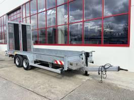 lowloader trailer Humbaur HS 106020 BS Tandemtieflader mit Breiten Rampen 2015