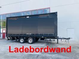 sliding curtain trailer Ackermann Oschersl. Z-PA-F 11,9/7,4 E Tandemplanenanhänger mit Ladebordwand 2015