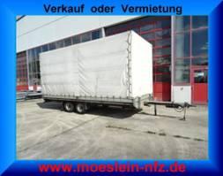 sliding curtain trailer Humbaur HT 506124 Tandemplanenanhänger 2005