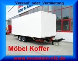 closed box trailer Möslein TKO 105 7m Möbel Tandem- Möbel Koffer- Anhänger-- Neufahrzeug -- 2021