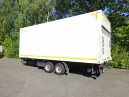 closed box trailer Möslein TKO 105 Schwebheim Tandemkoffer mit Ladebordwand + Durchladbar 2016