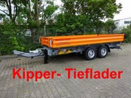 Kipper <3.5 t Möslein TTD 13 Orange 13 t Tandem 3- Seitenkipper Tieflader-- Neufahrzeug -- 2019