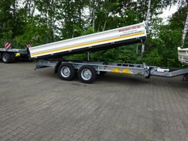 Kipper <3.5 t Möslein TTD11 weiß Tandem Kipper Tieflader-- Neufahrzeug -- 2021