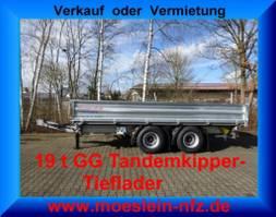tipper lcv <3.5 t Möslein TTD 19 19 t Tandem- 3 Seiten- Kipper Tieflader-- Neufahrzeug -- 2021