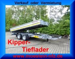 tipper lcv Möslein TTD 13 Verzinkt 13 t Tandem 3- Seitenkipper Tieflader-- Neufahrzeug -- 2021