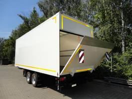 closed box trailer Möslein TKO105 D-L 6 m Tandem Koffer mit Ladebordwand 1,5 t und Durchladbar-- Ne... 2021