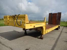 flatbed semi trailer Gheysen en Verpoort PVG78/38241 As Oplegger Dieplader Open, ON-18-GN 1983