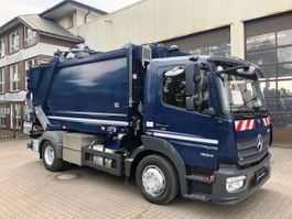 chassis cab truck Mercedes-Benz Atego 1224 Fahrgestell 4x2 Euro 6 2017