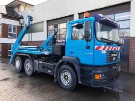 container truck MAN FE 26.360 Meiller AK 16 MT Absetzkipper 2003