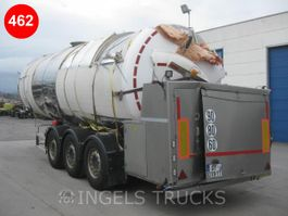 tank semi trailer semi trailer Magyar MILCHTANK 29500 LITER foodstuff tank semi trailer 2016