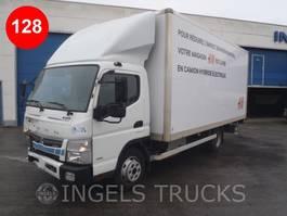 closed box truck Mitsubishi Canter FUSO HYBRID 7C15 2018