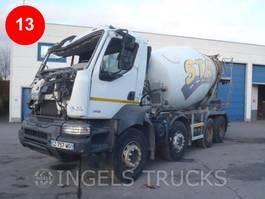 concrete mixer truck Renault Kerax 380 DXI CIFA14M³ SHORT CAB 2013