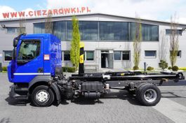 container truck Renault D12-210 , E6 , 60.000km , NEW HOOK HYVA 7-40-S , retarder , AC , 2017