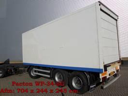 closed box trailer Pacton AXD328 & AXD28 3 As Vrachtwagen Aanhangwagen Gesloten, 2 Stuks WP-34-SG ...