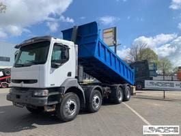 tipper truck > 7.5 t Renault Kerax 370 Full steel - Manual - Big axles - 244378 km 2003