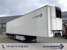 refrigerated semi trailer Chereau CSD3 / 3 as Disk / 2 Temp IsoBox / Carrier / Laadklep / APK 08-2021 2012
