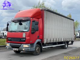sliding curtain truck DAF LF 45 220 Euro 5 2008