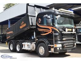 tipper truck > 7.5 t Scania R620-V8 6x4, Manuel + Retarder, Truckcenter Apeldoorn 2008