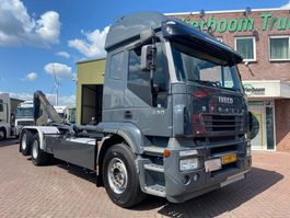 container truck Iveco STRALIS 260S43 6X2/4 VDL HAAKARM 21TONS RETARDER TOP STAAT 2006