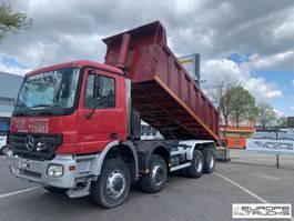 tipper truck > 7.5 t Mercedes-Benz Actros 4141 8x6 - Full steel - Manual - Big axles - Steel tipper 2003