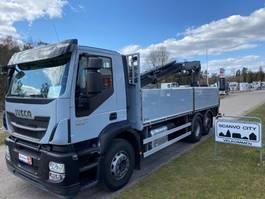 crane truck Iveco Stralis AD260S42Y/PS 2015