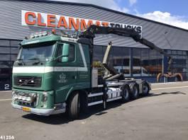container truck Volvo FH16 8X4 Palfinger 17 ton/meter Z-kraan 2010