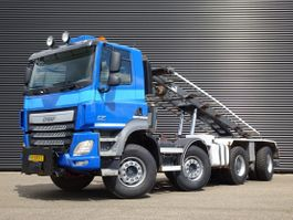container truck Ginaf 4243 / 8X4 / CONTAINER SYSTEM / EURO 6 2015
