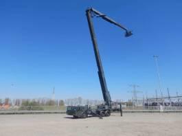 articulated boom lift wheeled Terex 6x4, lift, basket lift, height 40m 1995