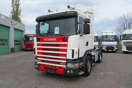 cab over engine Scania 124- 400 Manual diesel pomp  (Euro 2), Airco 1998