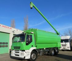 Silo-LKW Iveco Stralis Food silo  Auger, 5 comp (TOP STATE TRUCK, FRENCH 1 owner only) 2007
