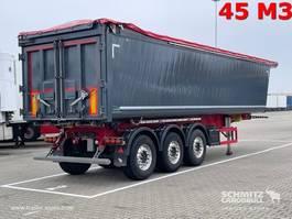 tipper semi trailer Schmitz Cargobull Kipper Alu kasten 45m³ 2019