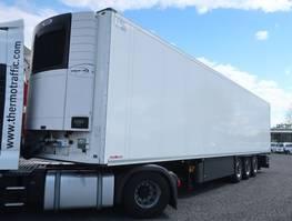 refrigerated semi trailer Schmitz Cargobull SKO 24 Doppelstock Vector 1950 2017