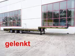 lowloader semi trailer Möslein ST 3-Plato 9,4 3 Achs Satteltieflader Plato 45 t GGfür Fertigteile, Baum... 2021