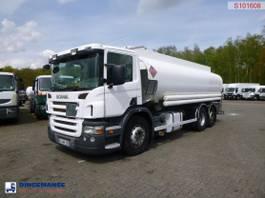 tank truck Scania P380 LB 6x2 fuel tank 20.6 m3 / 6 comp 2005